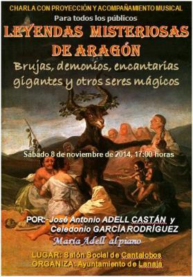 Leyendas misteriosas de Aragón en Cantalobos