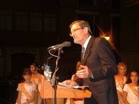 PREGONERO MAYOR. José Antonio Adell, deportista, profesor y pregonero