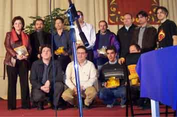 Premios FLA  de la  X Feria del Libro Aragonés (Monzón, 6 de diciembre de 2004)