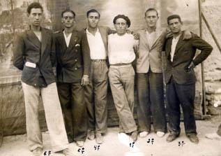 Julián Salillas, el corredor de Lanaja