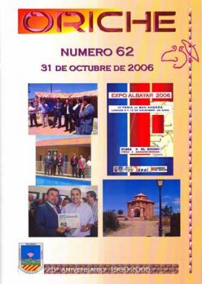 Oriche 62, la revista de Loscos