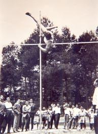 El primer Campeonato de Aragón de Atletismo