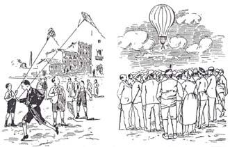 Las milorchas y el Montgolfier