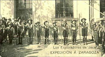 Exploradores, batallones infantiles y boy-scouts