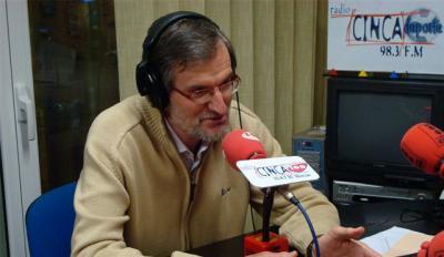 José Antonio Adell en Radio Cinca 100