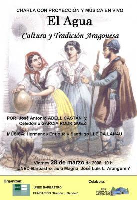"""""""El Agua, cultura y tradición aragonesa"""", en la UNED de Barbastro"""