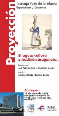 El agua: cultura y tradición aragonesa en Ibercaja Patio de la Infanta