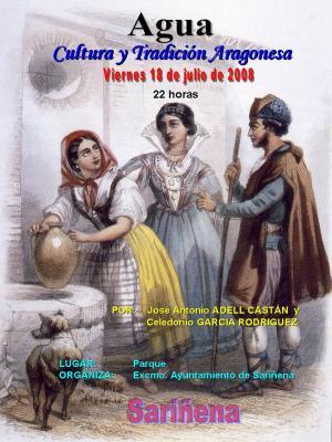La Cultura Popular del Agua en Sariñena, capital de los Monegros