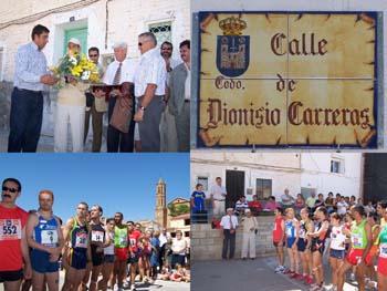 Codo rindió homenaje a Dionisio Carreras