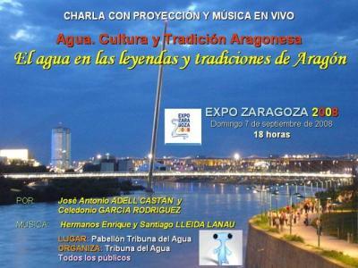 El agua en las leyendas y tradiciones de Aragón en la Expo de Zaragoza