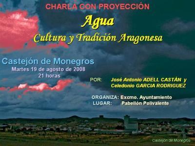 La Cultura popular del agua en Castejón de Monegros