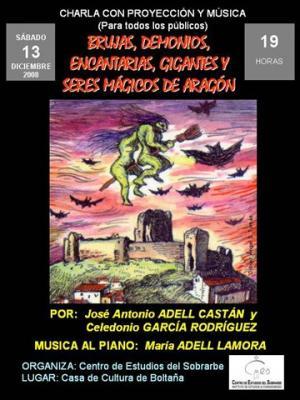 Brujas, demonios, encantarias, gigantes y otros seres mágicos de Aragón, en Boltaña