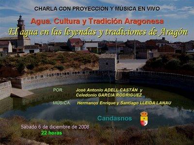 Leyendas y tradiciones del agua en Aragón (Candasnos)