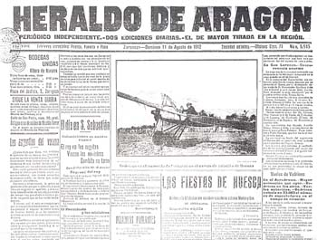 La Aviación en 1912