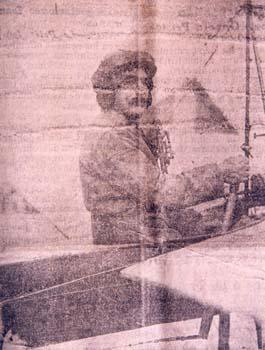 Gregorio Campaña, el primer aviador oscense