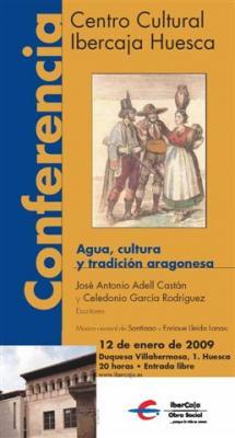 Agua, cultura y tradición aragonesa en el Centro Cultural Ibercaja Huesca