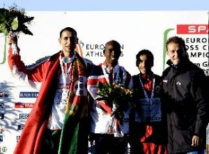 Eliseo Martín logra el bronce con España en el Europeo de cross