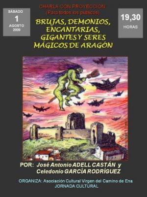 Las brujas y otros seres mágicos de Aragón visitan Ena