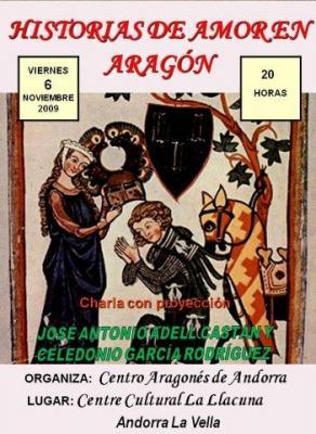 Historias de Amor en Aragón en el Centro Aragonés de Andorra la Vella