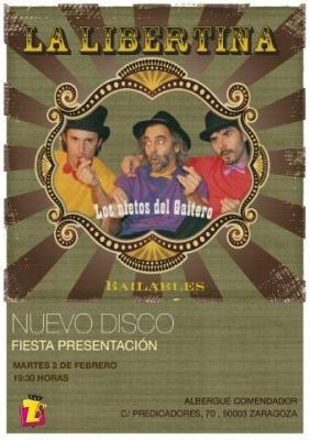 La Libertina presenta su nuevo disco