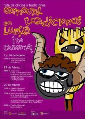 Carnaval tradicional en Luesia 2010