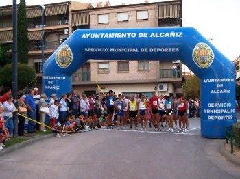 Alcañiz se volcó con la XXVI Carrera de la Solidaridad