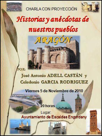 Los pueblos de Aragón en Andorra la Vella