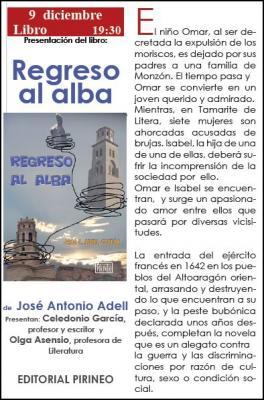 José Antonio Adell presenta Regreso al alba en la sala Ámbito Cultural de El Corte Inglés
