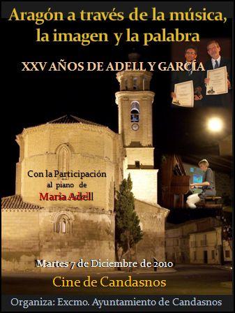 Aragón a través de la  música, la imagen y la palabra, en Candasnos