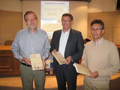 El alcalde de Teruel asistió a la presentación del libro 'Historias de nuestros pueblos'