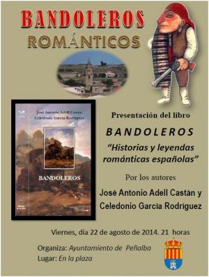 Presentación del libro BANDOLEROS en Peñalba